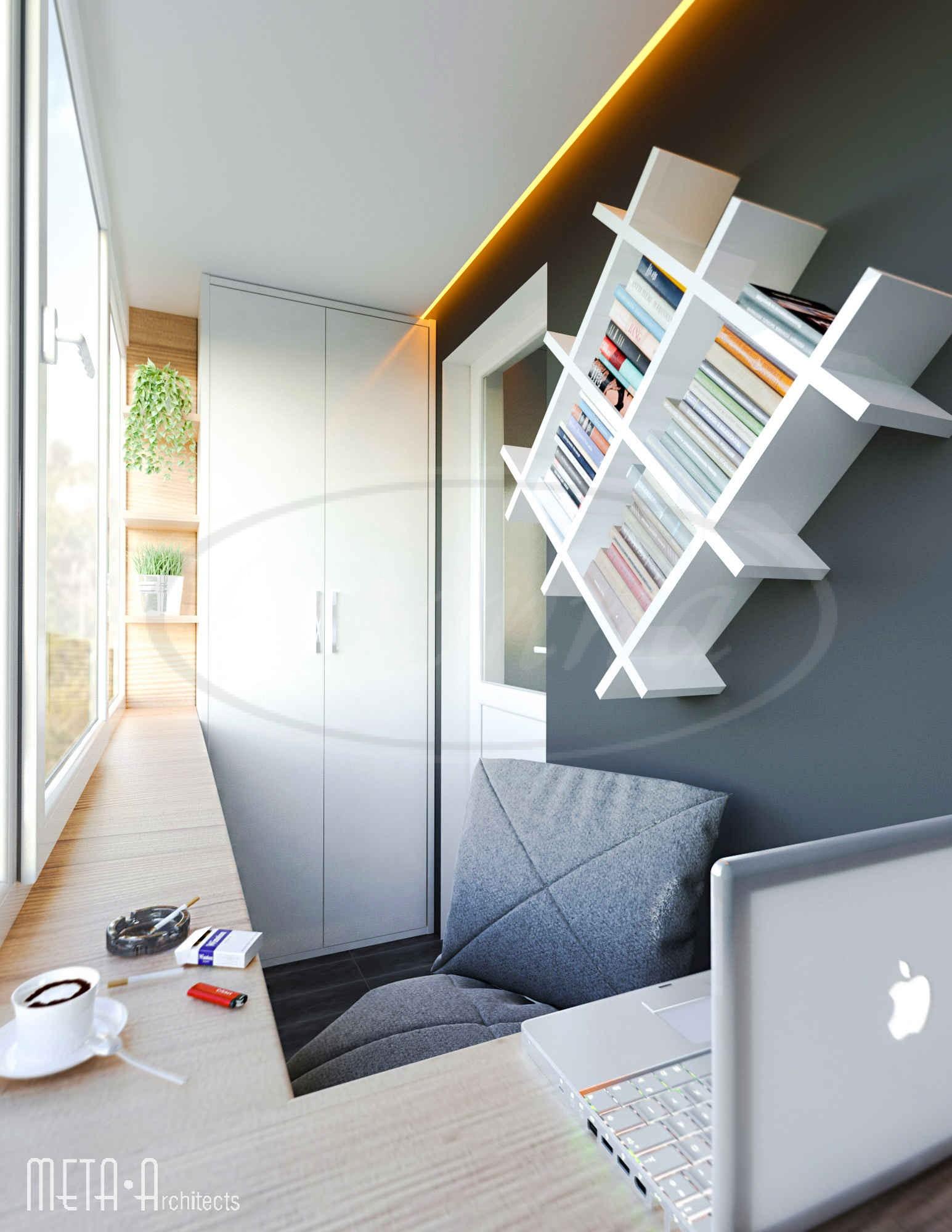 Балкон дизайн пермь - остекление балконов.